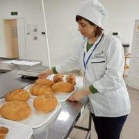 Демонстрационный экзамен в Новосибирском колледже пищевой промышленности и переработки по стандартам WorldSkills Russia,компетенция  «Хлебопечение»