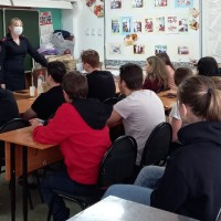 Профилактические беседы о подростковой преступности сотрудниками ПДН в рамках межведомственной операции «Семья»
