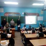 Студенты Колыванского аграрного колледжа провели урок для учащихся школы