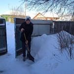 Свои люди вышли на борьбу с последствиями снегопада