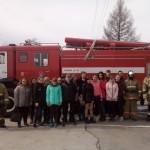 Экскурсия в пожарную часть №63