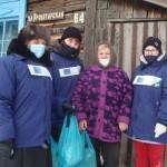 С 21 января волонтёры колледжа приступили к реализации проекта: «Помоги пожилым и взрослым с инвалидностью»