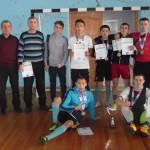Команда Колыванского аграрного колледжа заняла третье место в областных соревнованиях по мини-футболу